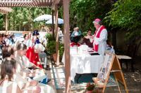 2011 - v českém misijním centru Velehrad v Kalifornii při mši svaté s krajany