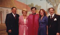 1981 - Moravský den v Chicagu, Petr Esterka s krajany