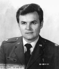 1981 - Petr Esterka, portrét pro Air Force