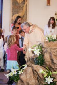 2009 - Velikonoce s USA, biskup Petr Esterka s farníky