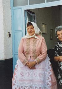 1999 - Anežka Hromková, rozená Esterková, sestra biskupa Petra Esterky