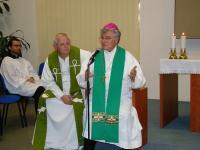2009 - Petr Esterka v duchovním centru Brno-Lesná (na pozvání P. Pavla Hověze, který se staral o krajany v Německu)