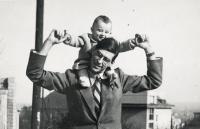 Prokop Michal – otec Jindřich Prokop 1948/1949