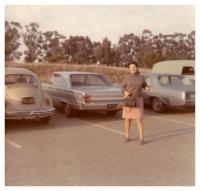 1969 - Kalifornie, Ruzena se svým prvním autem