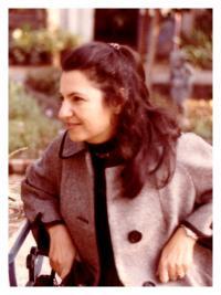 1968 - portrét Ruzeny, Kalifornie, detail