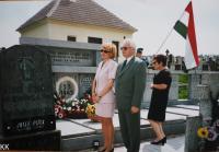 07 Pamětní slavnost v Rájově - padlí maďarští vojáci