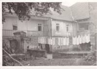 Robeč, sušení prádla