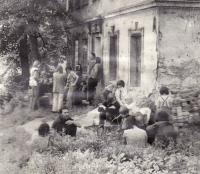 víkend na baráku v Rychnově