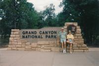 Návštěva USA, s manželkou Pavlou, 1994