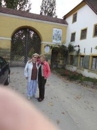 Markéta s Helenou Prečanovou, Zámek Schwarzenberg, 2009