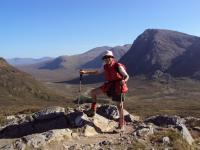 Markéta ve Skotsku, Western Highlands Trail, 2009