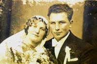 Emma Hrnčířová, babička z matčiny strany