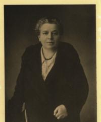 Erna Goetzová, babička z otcovy strany