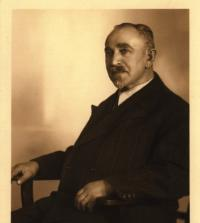 Ludvík Goetz, dědeček z otcovy strany