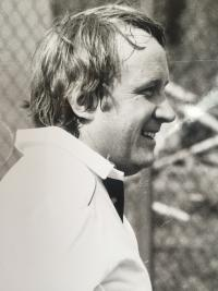 M. Brocko, tenisový turnaj Slovkoncertu, 1987