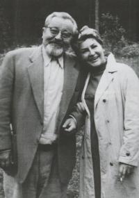 S Janem Werichem ve Velharticích, 20. srpna 1968