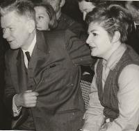 S Josefem Smrkovským, 1969