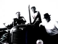 Bohuš Bárta se syny, po roce 1945