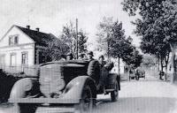 příjezd německé armády do Bolatic / 1938