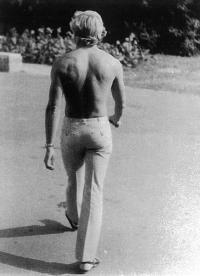 František Bloudek na dovolené v Bulharsku (70. léta)