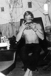 František Bloudek, oslava Silvestra u přátel v Berlíně, 70.léta