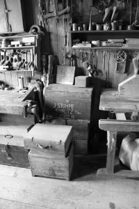 Bedny, ve kterých Stumpovi stěhovali svoje věci z Dvoraček a pak zase zpátky