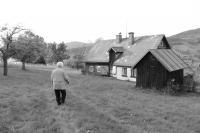 Krista u domku v Dolní Rokytnici, 2013