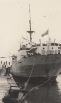 čs loď ve Vietnamu