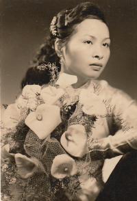 Nhung Nechybová svatba 1963 ČSR