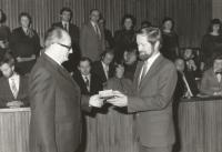 Graduation of Prokop Šmirous in Brno