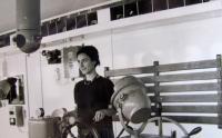 Aikaterini Sgourdeou - u bratra na lodi, Benátky, 1962