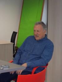 Jiří Holík při rozhovoru