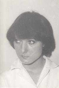 Petra Erbanová, březen 1978