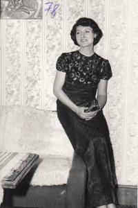 Petra Erbanová, leden 1978