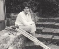Petra Erbanová o berlích v důsledku střelného poranění ze srpnové okupace, podzim 1968