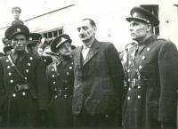 H. Jöckel před popravou (1946. věznice Litoměřice)