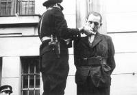 Poprava H. Jöckela oběšením (1946, věznice Litoměřice)