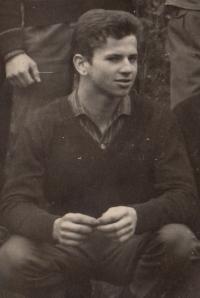 Bratr Petra Šídy Josef, cca 1962
