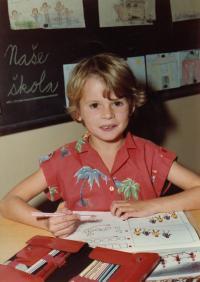 Dcera Petra Šídy Petra, 1985