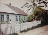 Rodný dům Viktora Hnízdila v Knerutech