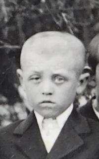 Viktor Hnízdil v dětství