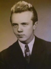 Pavel Kamaráš v roce 1956
