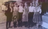 Maďarský taneční soubor Čemadok, Pavel první zleva