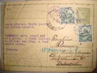 Dopis Adolfovi a Viktorovi od rodičů z Protektorátu