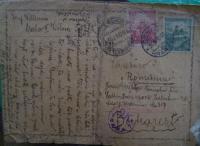 Dopis Adolfovi a Viktorovi od rodičů do Bukurešti¨