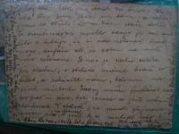 Dopis Adolfovi a Viktorovi od rodičů do Bukurešti
