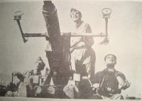 200. Protiletadlový pluk, dělo Boforce, ze Zpravodaje