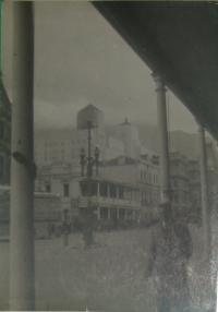 Fotka Suezu, odkud odjížděli vojáci do Anglie