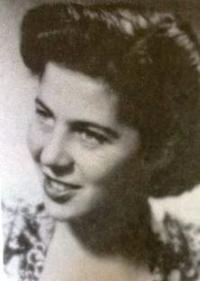 Manželka Petra Erbena Eva. 1948