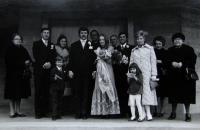 Věřino příbuzenstvo ve Vídni, cca 1970